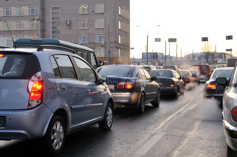 Download Traffic During The Rush Hour Stock Photo - Image: 12260378