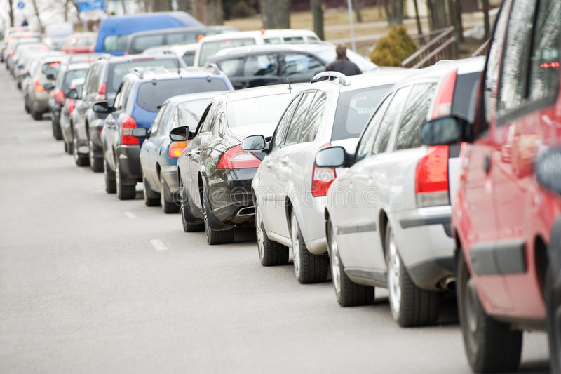 Download Traffic During The Rush Hour Royalty Free Stock Photos - Image: 18984838