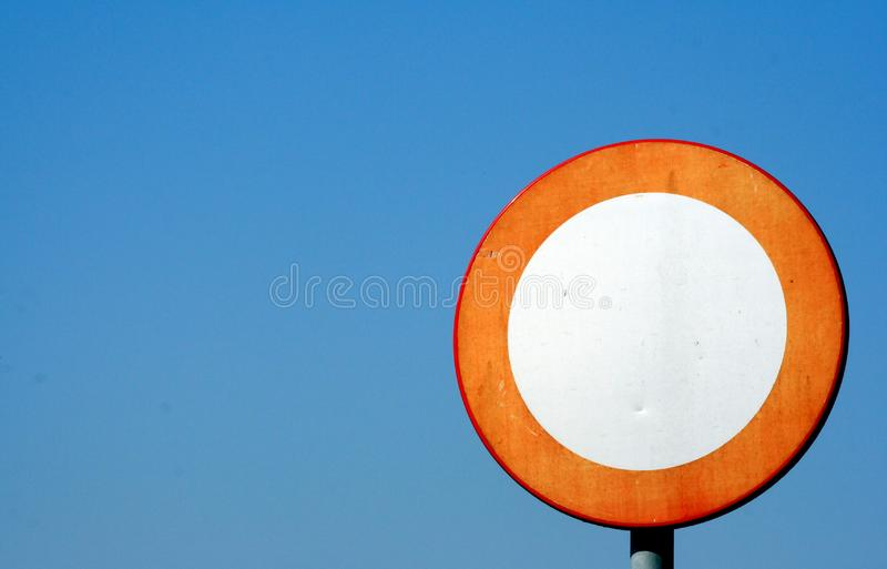 Traffic Sign Stock Image