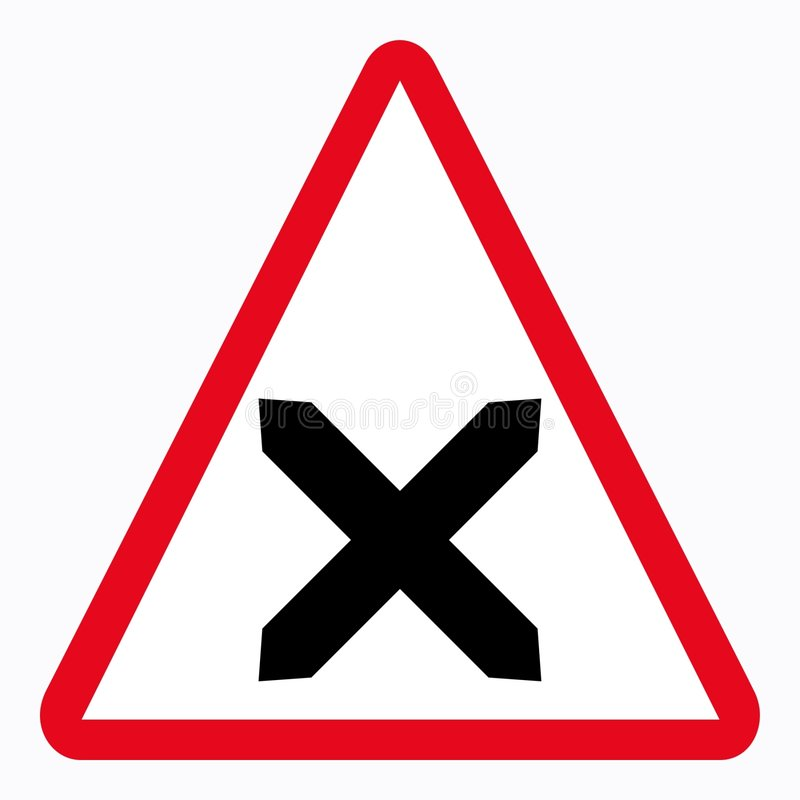 Traffic sign stock illustration