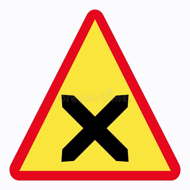 Traffic sign vector illustration