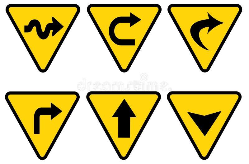 Traffic sign royalty free illustration