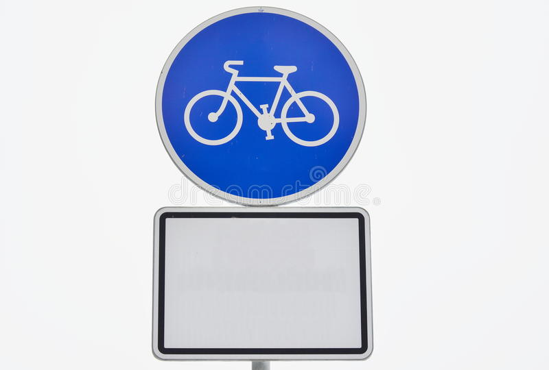 Download Traffic sign, cycling stock photo. Image of road, cycling - 86452082