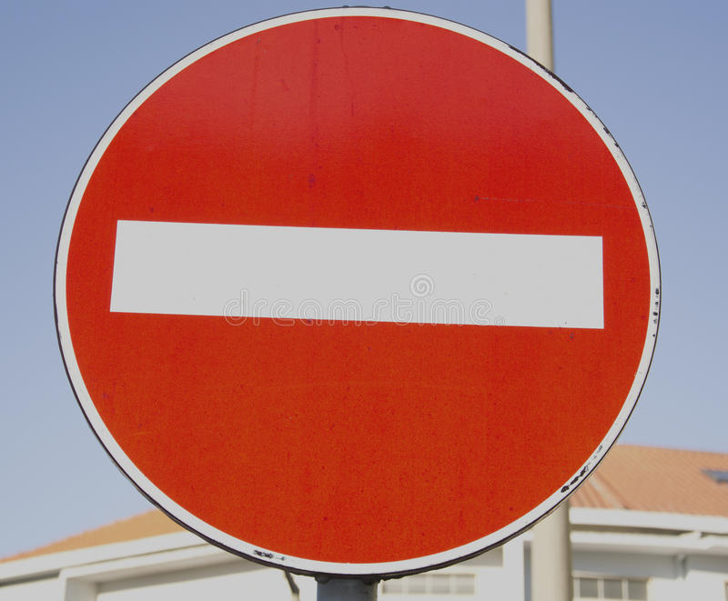 Download Traffic Sign Of Prohibition Stock Image - Image: 23312979