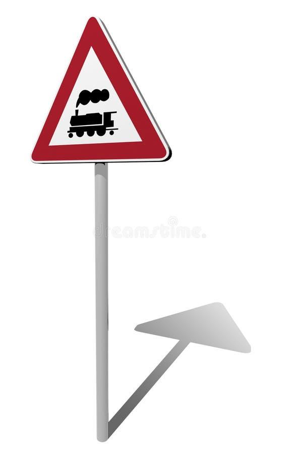 Free Traffic Sign Rail Crossing Royalty Free Stock Image - 17126616