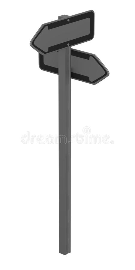 Download Traffic sign2 stock illustration. Image of blank, template - 24421730