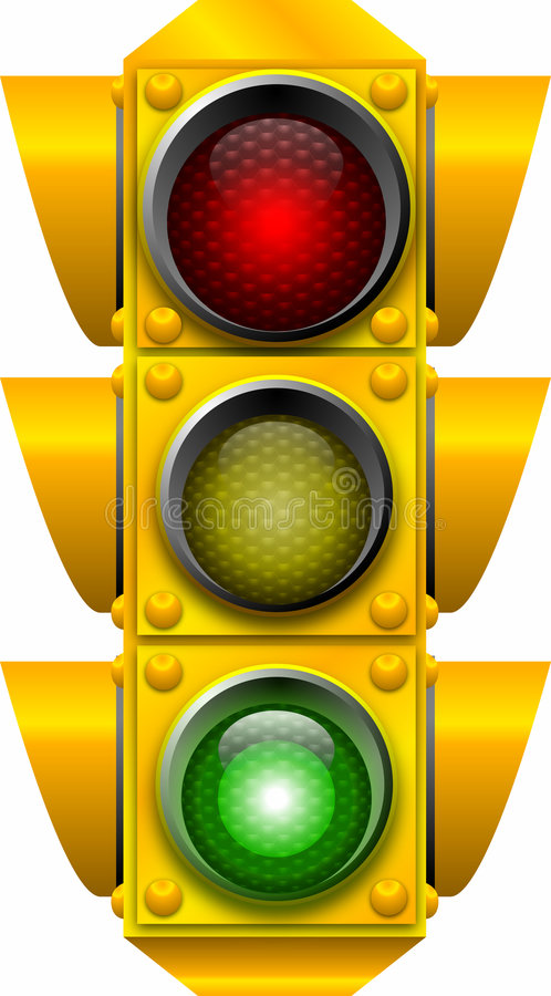 Traffic_signal_GO illustration de vecteur