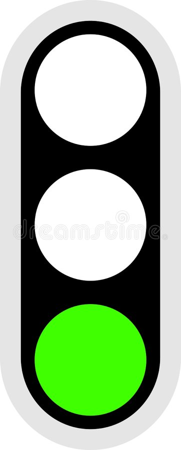 Traffic Signal Icon royalty free illustration