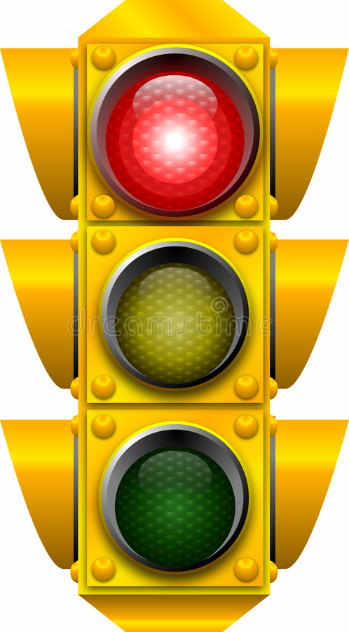 Traffic_signal_STOP illustration libre de droits