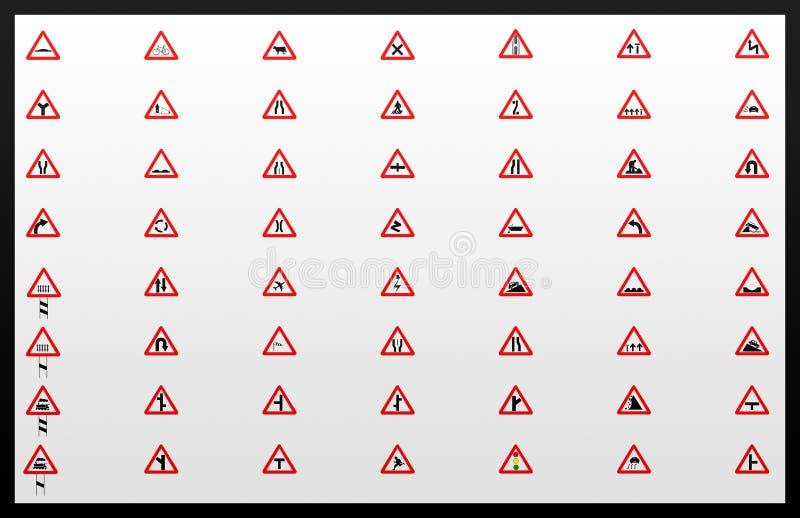 Download Traffic signals Collage stock illustration. Illustration of turn - 16002781