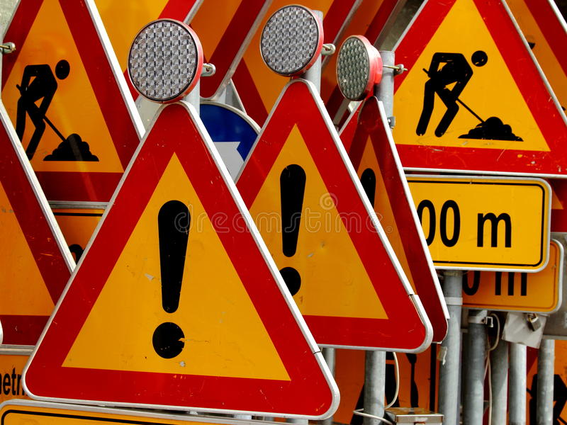 Traffic signs !!! stock photos