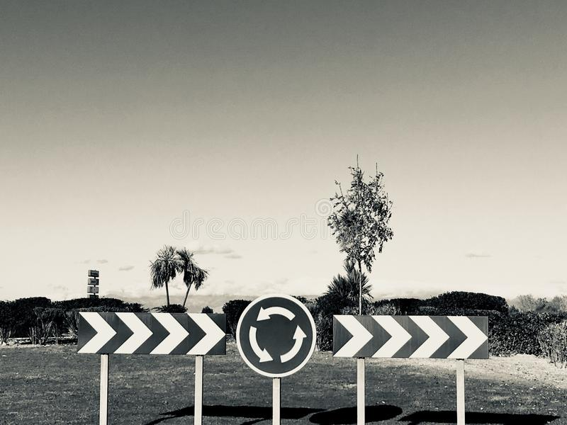 Traffic signs road. Traffic signs highway transport travel stock image