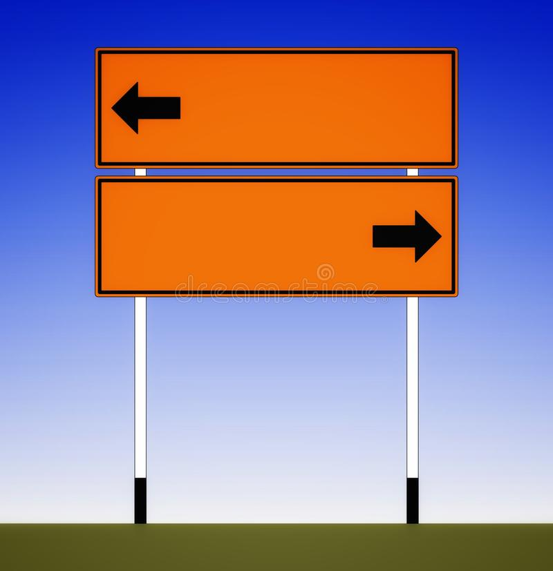 Traffic signs in the Southeast Asian. Region stock photography