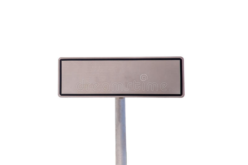 Traffic Signs on white background royalty free stock photography