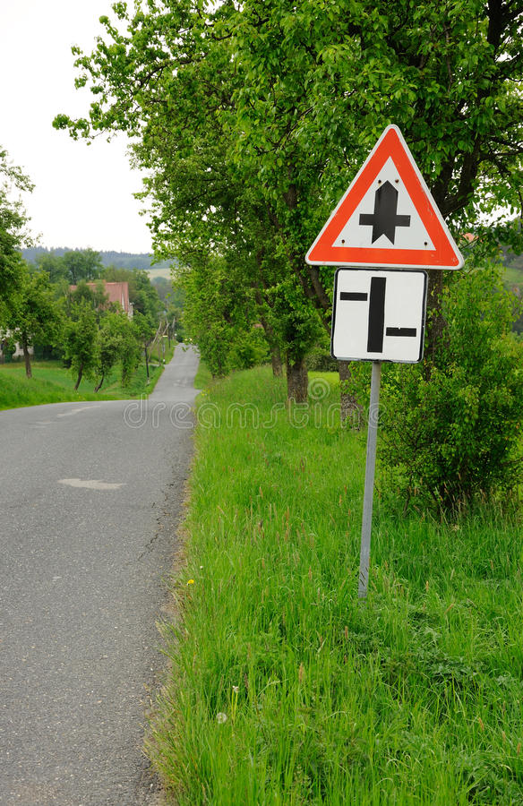 Download Traffic sing stock image. Image of road, street, cross - 19532415