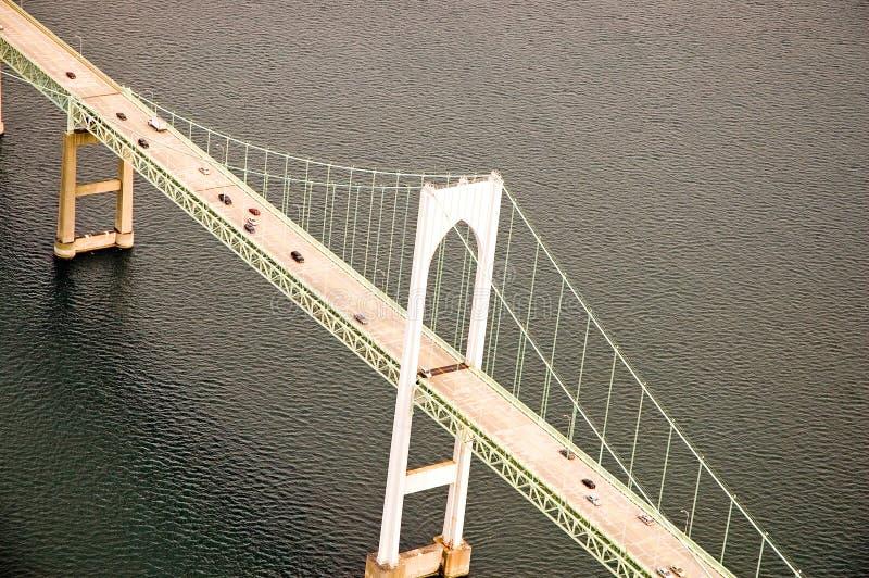 Download Traffic On Suspension Bridge Stock Image - Image: 2747731