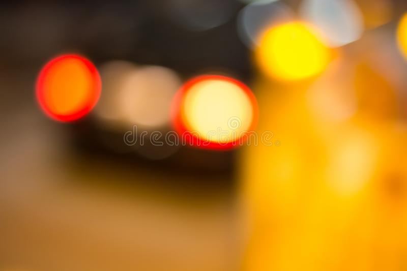 Traffic signs at night. Traffic symbols in the dark november evening in south germany near city of munich and stuttgart stock photography