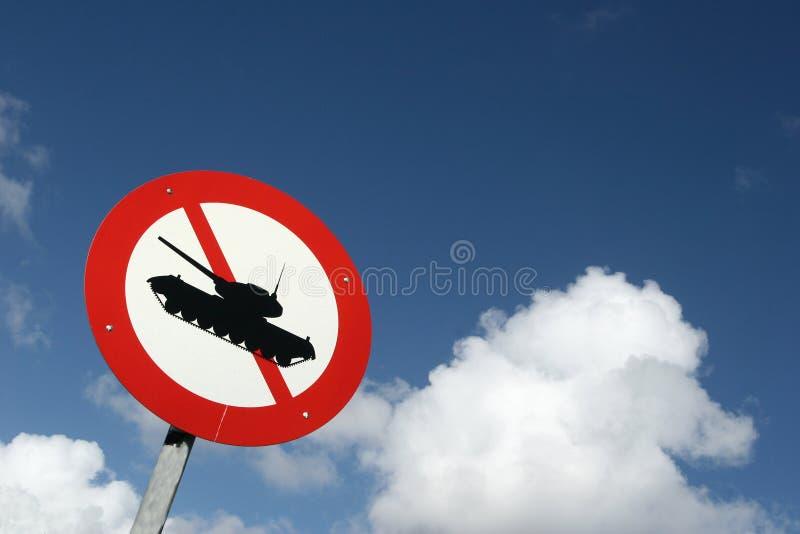 Traffic tank royalty free stock image