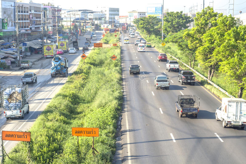 Download Traffic in Thailand editorial photography. Image of external - 63985462