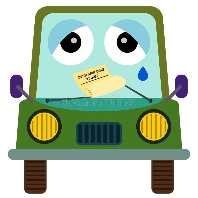 Download Traffic ticket stock illustration. Illustration of authority - 30450623