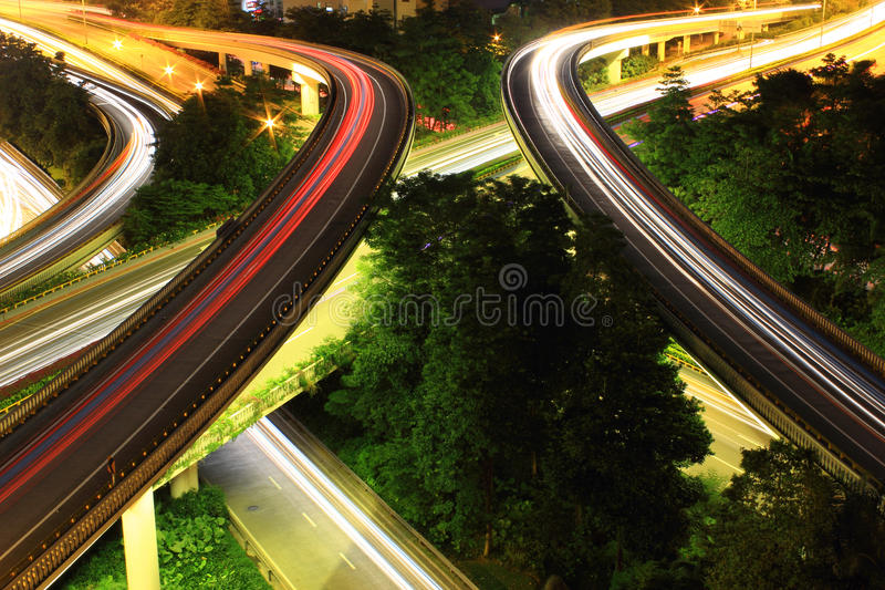 Download Traffic To City With Motion Car Light Stock Image - Image of light, city: 25452815
