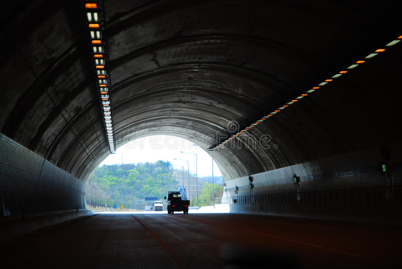 Traffic. Tunnel stock photos