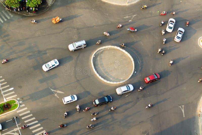 Traffic in Vietnam stock photography