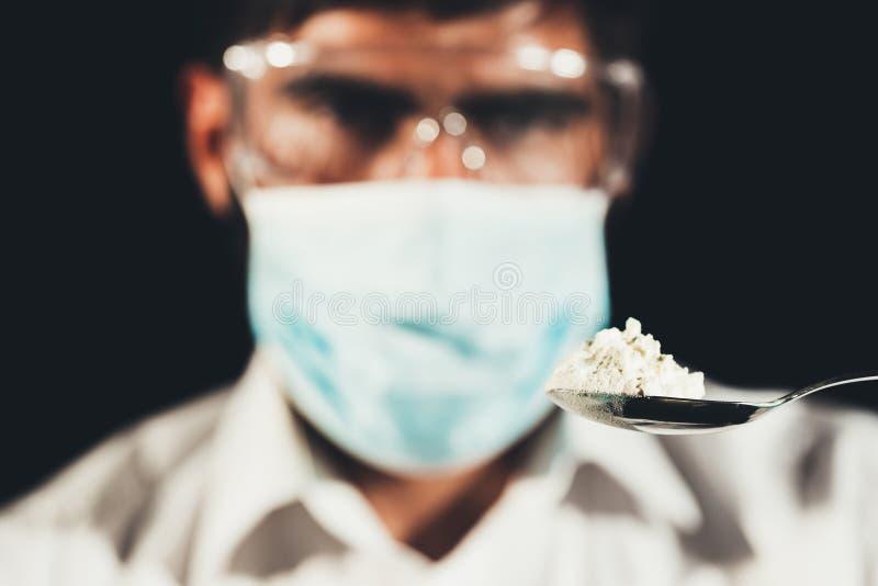 Trafficante di droga fotografia stock libera da diritti