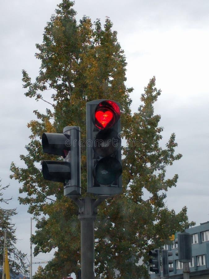 Trafficheart стоковая фотография