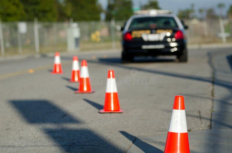Disciplina Del Traffico Fotografia Stock Libera da Diritti