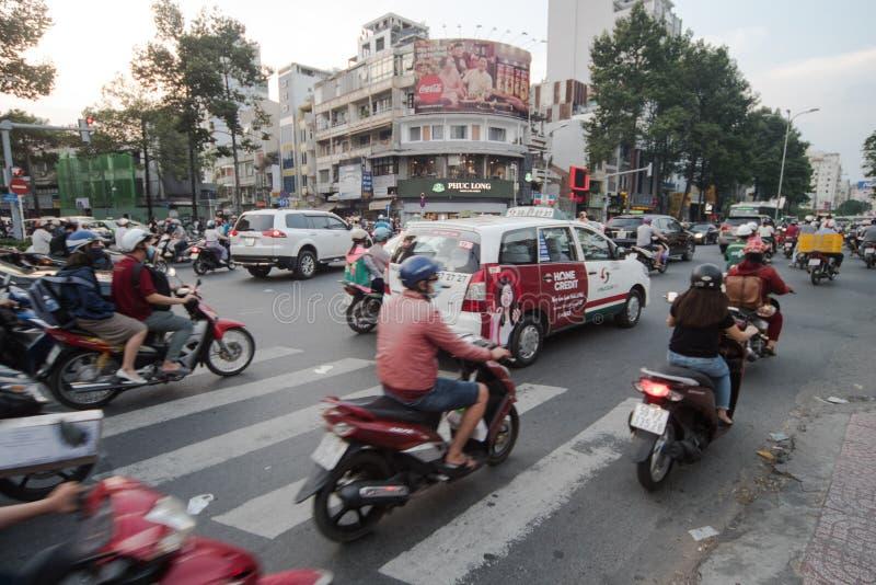 Traffico del Vietnam immagine stock libera da diritti