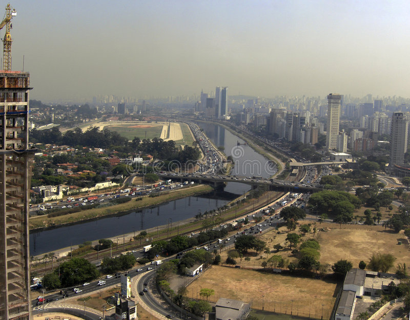 Traffico di città immagini stock libere da diritti