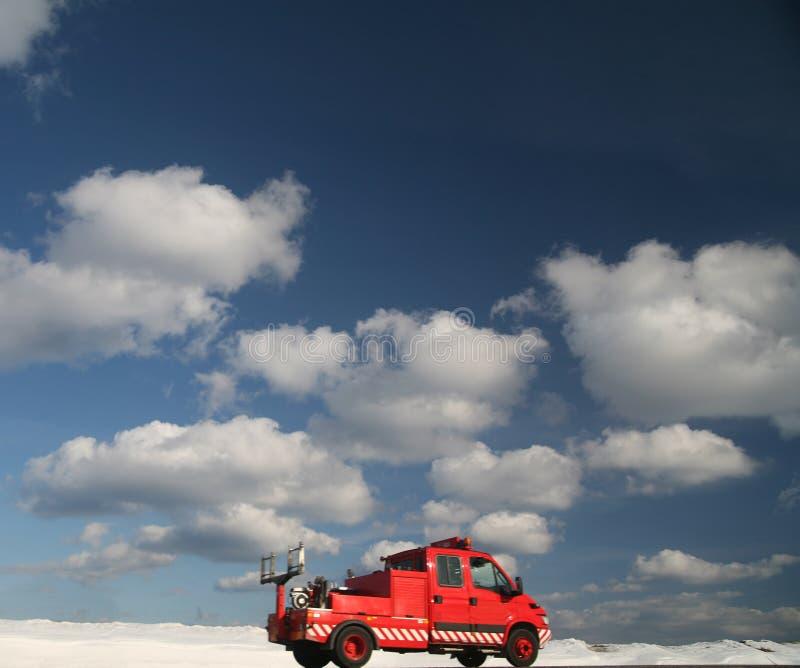 Traffico di inverno immagini stock libere da diritti
