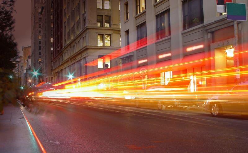 Traffico di New York fotografie stock libere da diritti