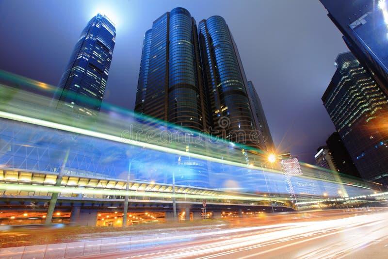 Traffico a Hong Kong fotografia stock libera da diritti
