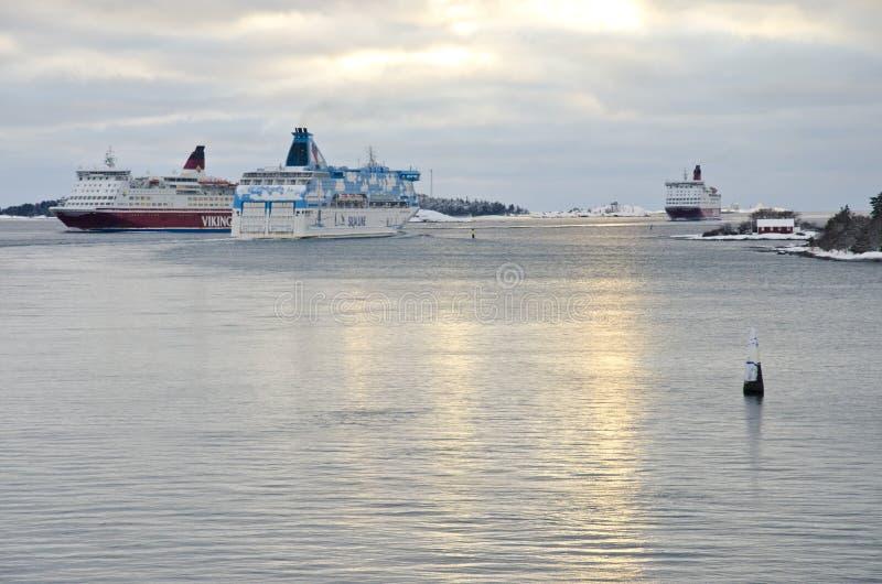 Traffico in mare immagini stock libere da diritti