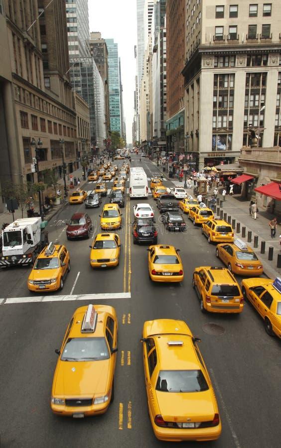 Traffico a New York immagine stock