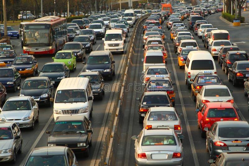 Traffico pesante fotografia stock