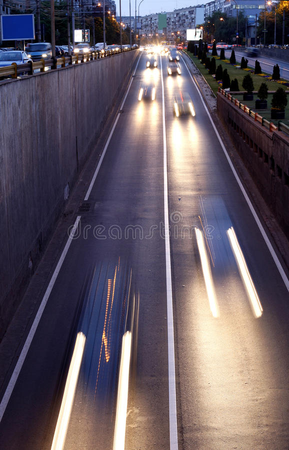 Download Trafic Lights In The Passage Stock Photo - Image: 27480526