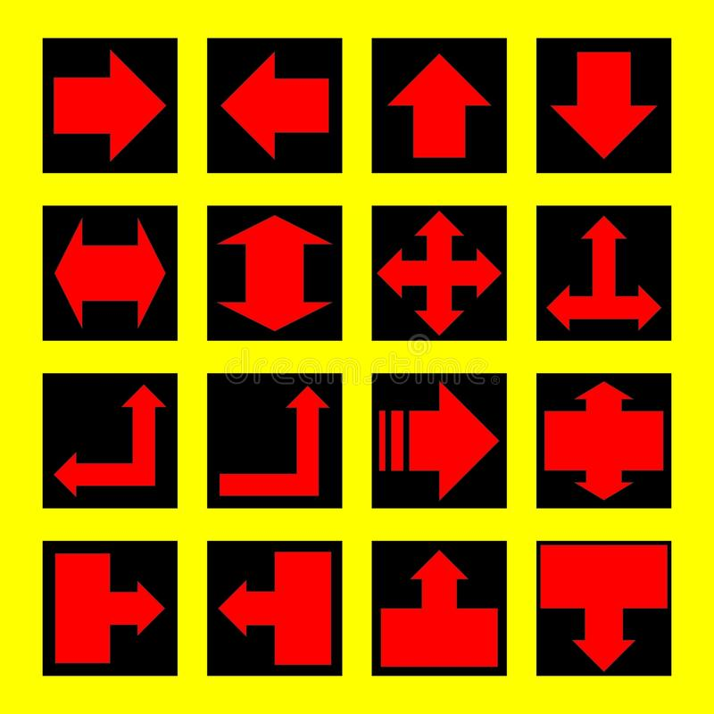 Trafic Lights and signs. Vector illustration bakcground stock illustration