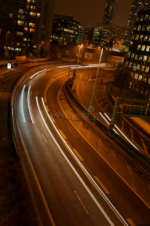 Download Trafic At Night Stock Photo - Image: 12956400