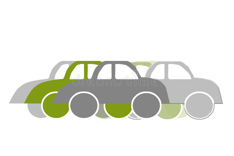 trafik royaltyfri illustrationer