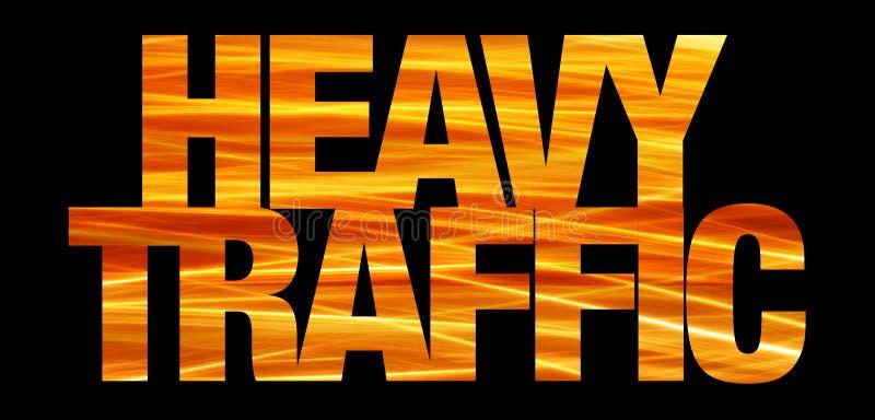 trafik för bakgrundsinternetteknologi stock illustrationer