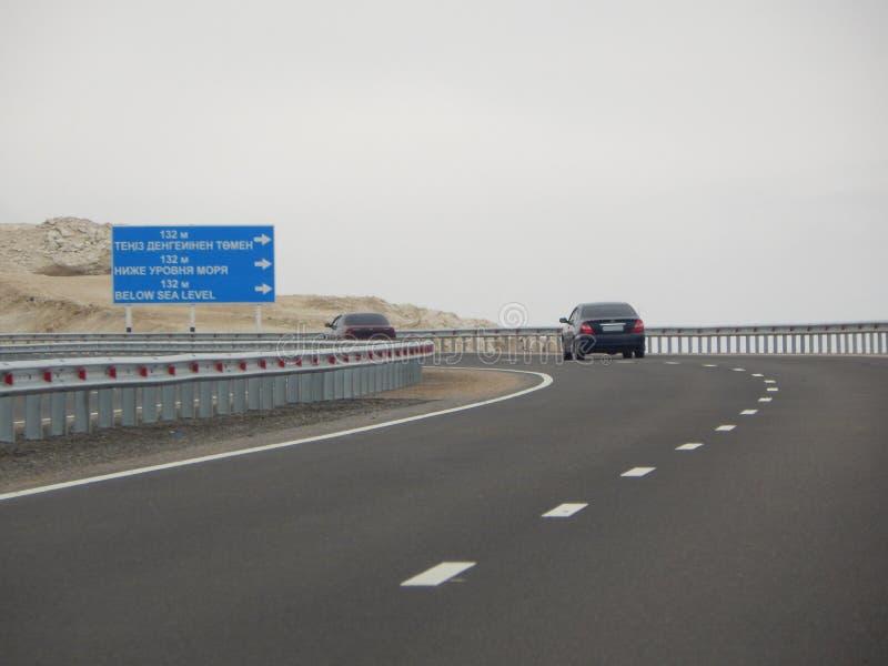 trafik för bildriftstoppväg arkivfoton