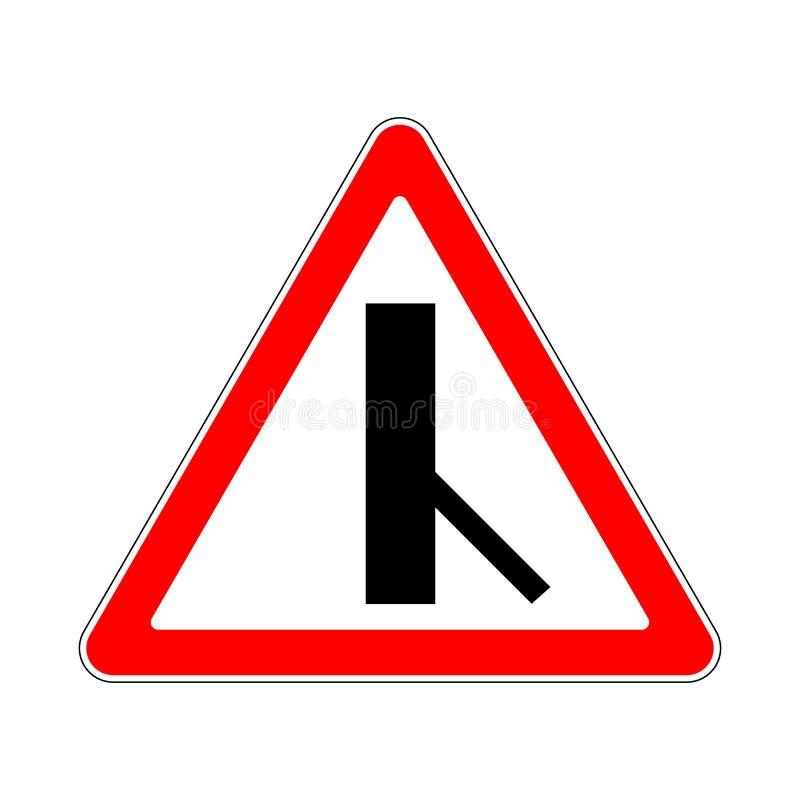 Trafik-väg tecken stock illustrationer