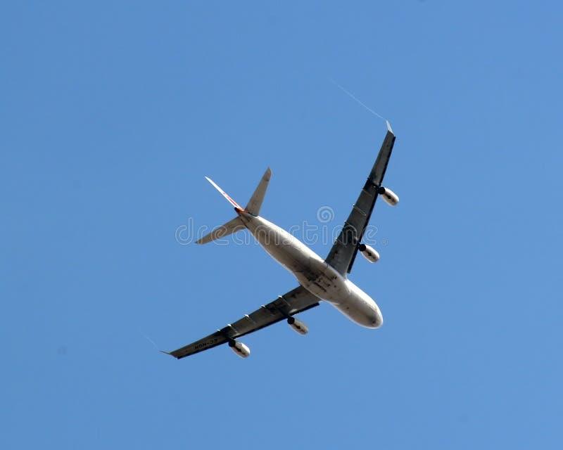 trafikflygplan royaltyfria bilder