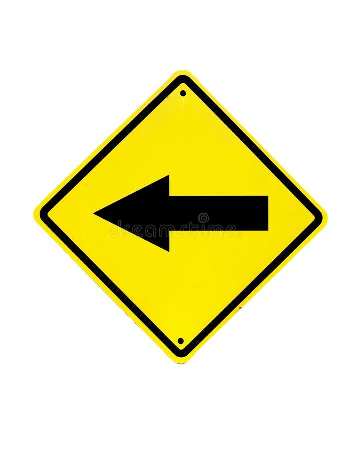 Trafiktecken på en vit arkivbilder