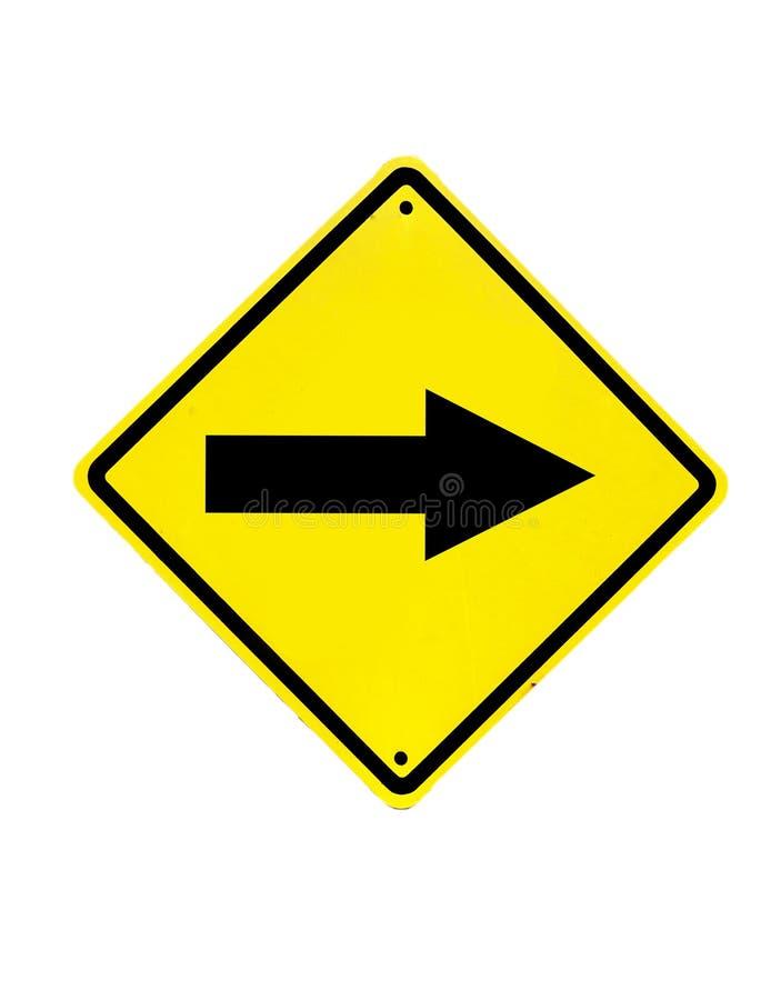 Trafiktecken på en vit royaltyfri foto