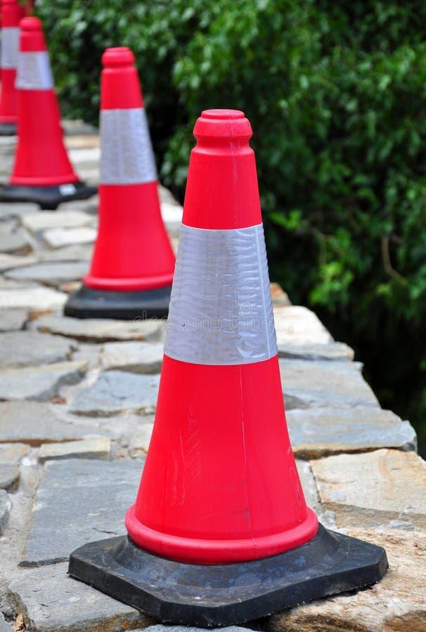 Trafiquez les cônes photo libre de droits