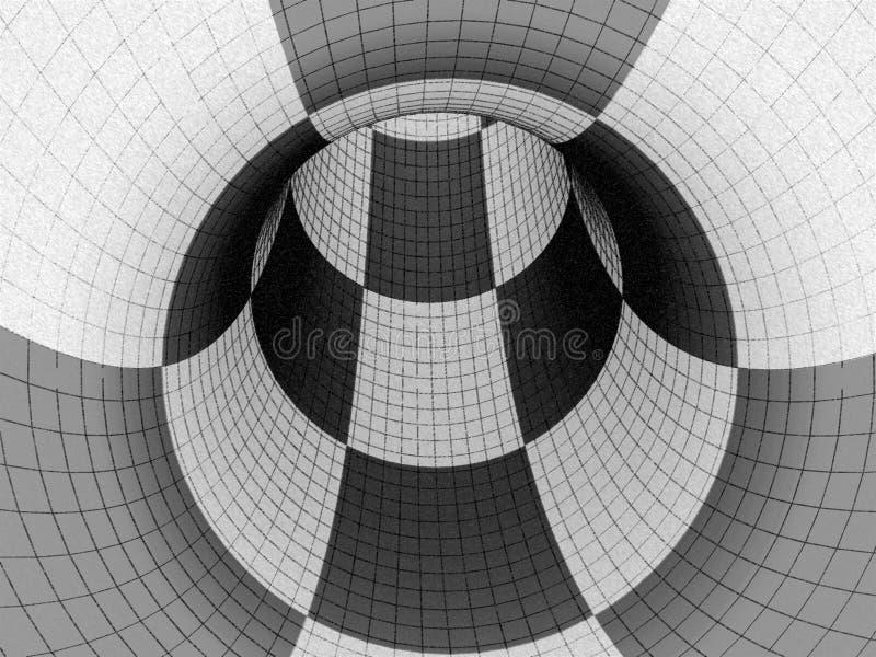 traforo 3d illustrazione vettoriale